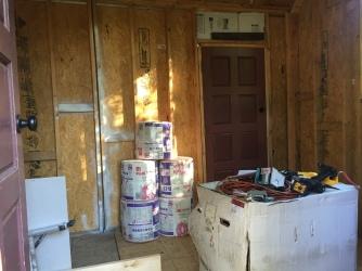 Cabin Pre-insulation