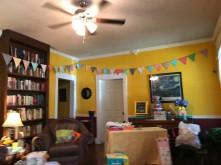 Baby Shower - Living Room