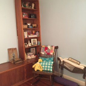 Baby Corner in Master Bedroom