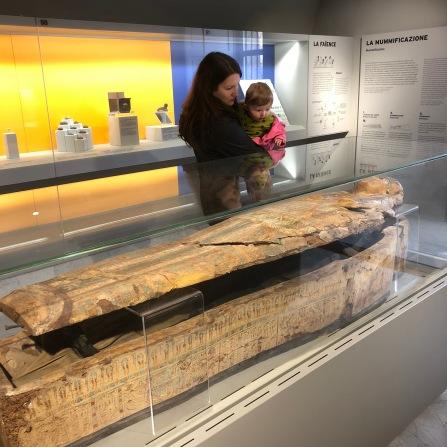 Ariel's first mummy