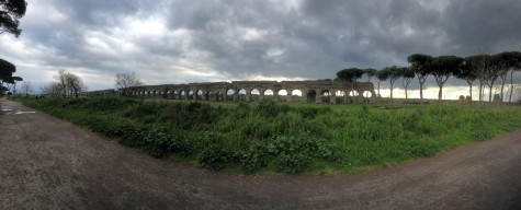 Aqueduct panorama
