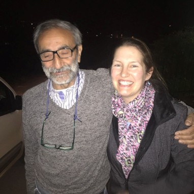 Prof Martino and Paulette